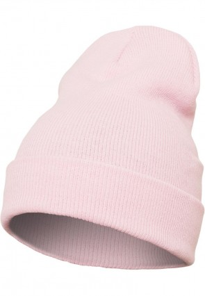 Original Flexfit - Heavyweight Long Beanie - Baby Pink / Rosa
