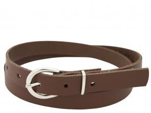 Echt Ledergürtel in Trendigen Braun - 2cm Breite