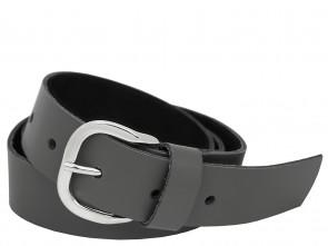 Ledergürtel 3cm Breit - Echt Leder - Grau