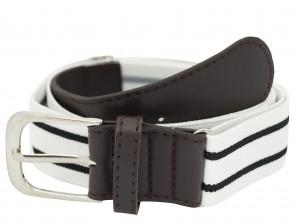 Elastischer Stretch / Stoffgürtel für Damen und Herren - Verstellbare Bundweite von 65 - 115cm