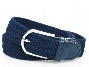Uni Dunkel Blau - Geflochtener Gürtel