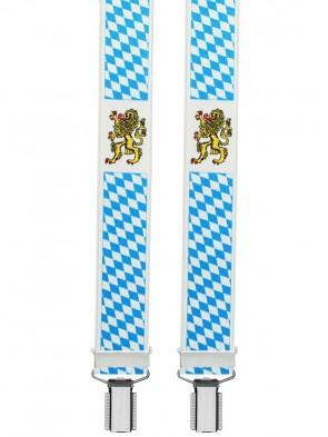 Hochwertige Hosenträger Freistaat Bayern 4 Clip