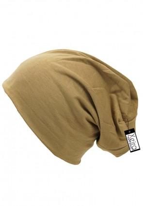 Beanie in trendigen Uni Farben-Khaki