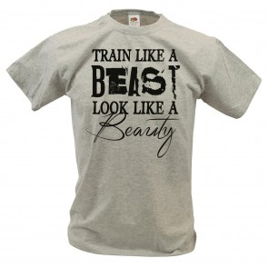 T-Shirt Train like a Beast Design