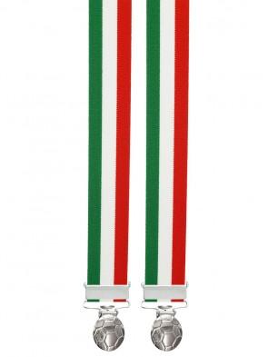 Hosenträger Länder / WM mit 3 stabile Fußball Clips-Italien