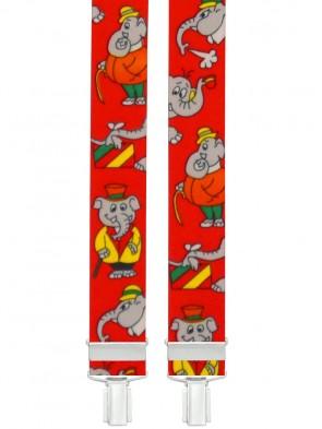 Kinder Hosenträger Elefant Design