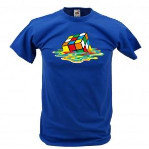 Sheldon - Melting Rubik Cube - Zauberwürfel T-Shirt