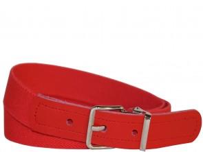 Kinder- Stretchgürtel Uni Rot