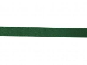 Hochwertiger Kinder Elastik- Stoffgürtel Uni Grün mit Leder Endstück