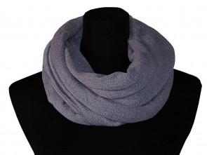 Loop Schal in Trendigen Farben - Grau