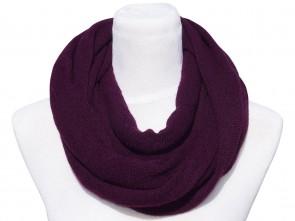 Loop Schal in Trendigen Farben - Lila
