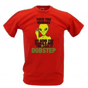 Alien Dubstep Design - T-Shirt