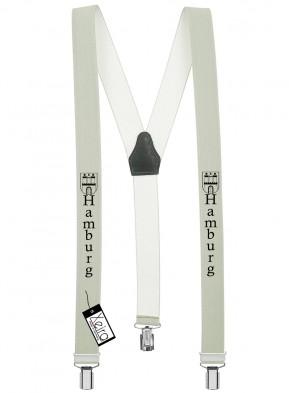 Hosenträger Hamburg Design mit 3 Clips von Xeira®