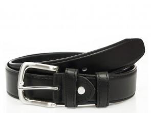 Tresorgürtel mit Reißverschluss - 4cm Breit - Schwarz