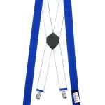 Neue X-Form Hosenträger mit 4 Clips